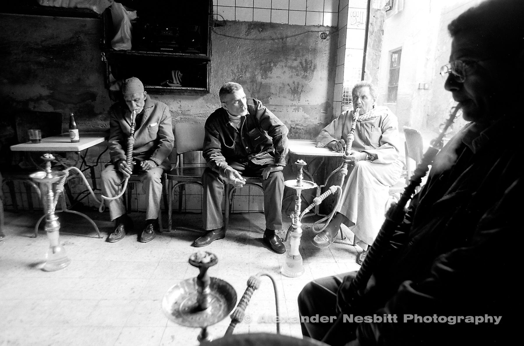 Shesha cafe, Quaitbay, City of the Dead, Cairo.