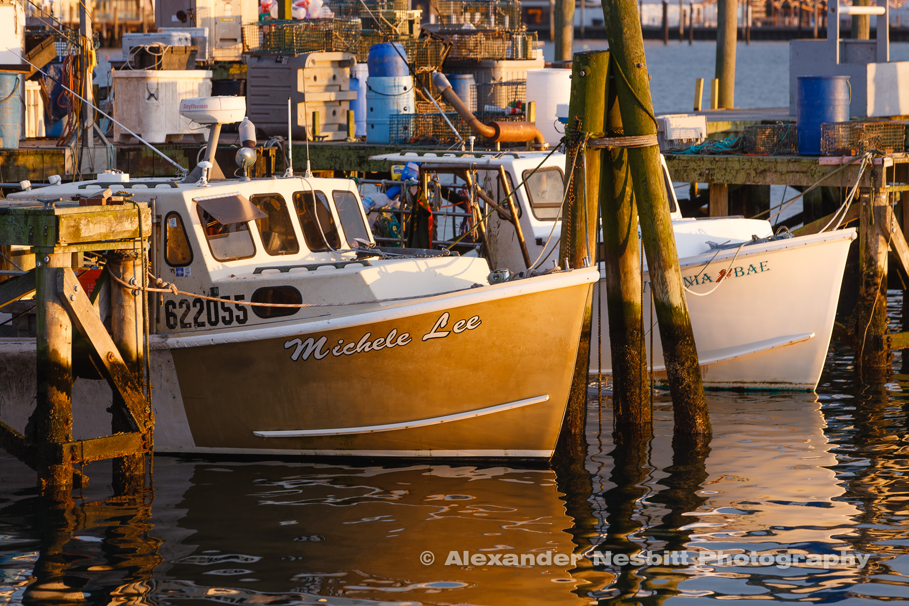 Fishing boats at the State Pier