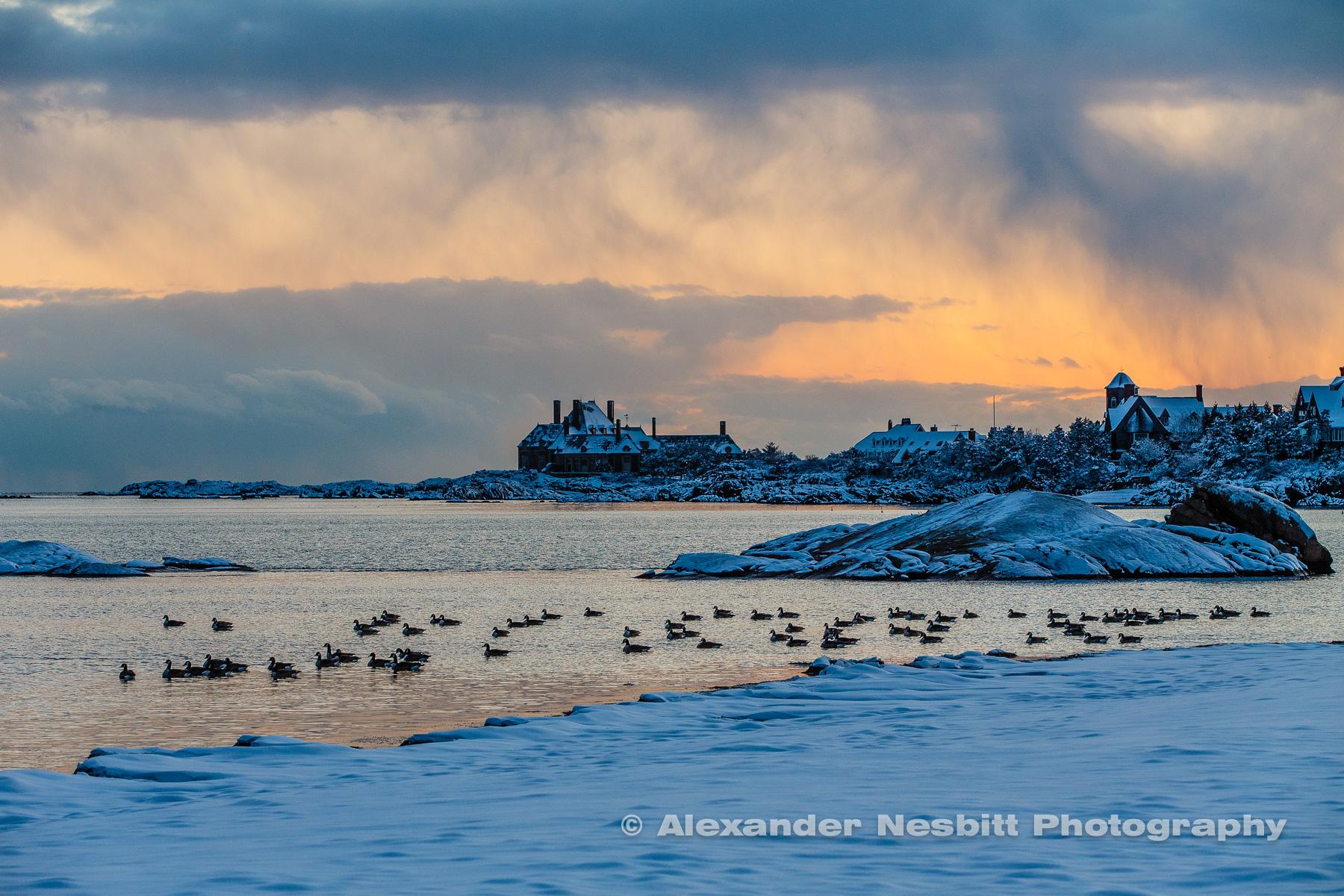 Gooseberry Beach Winter