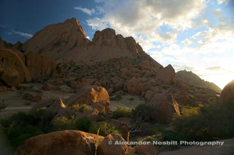 Namibia - Spitzkoppe mountain often reffered to as the Matterhorn of Namibia.