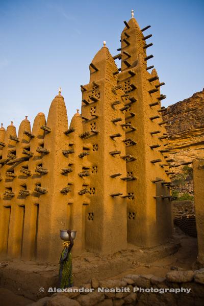 Mali, Dogon village