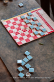 Checkers in a Mozambique village
