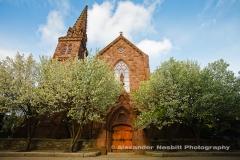 Newport, RI - St Mary's church where JFK was married