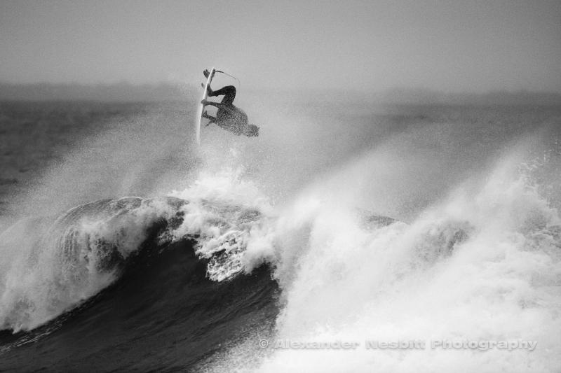 Pro Surfer Ian Walsh, Ruggles, Newport RI