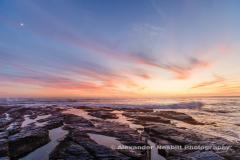 Sunset off Brenton State Park