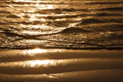 Sachuest Beach Golden Ripples