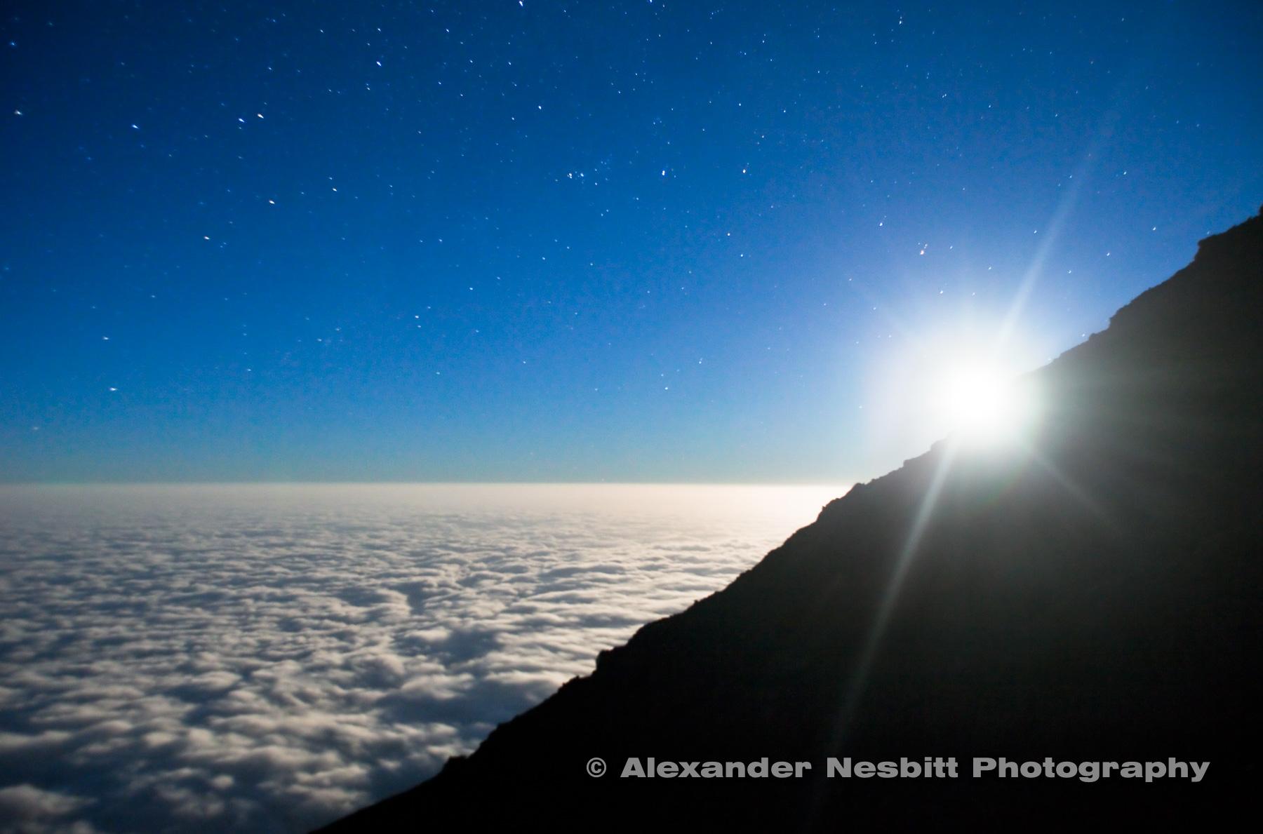 Climbing Mt. Kilimanjaro