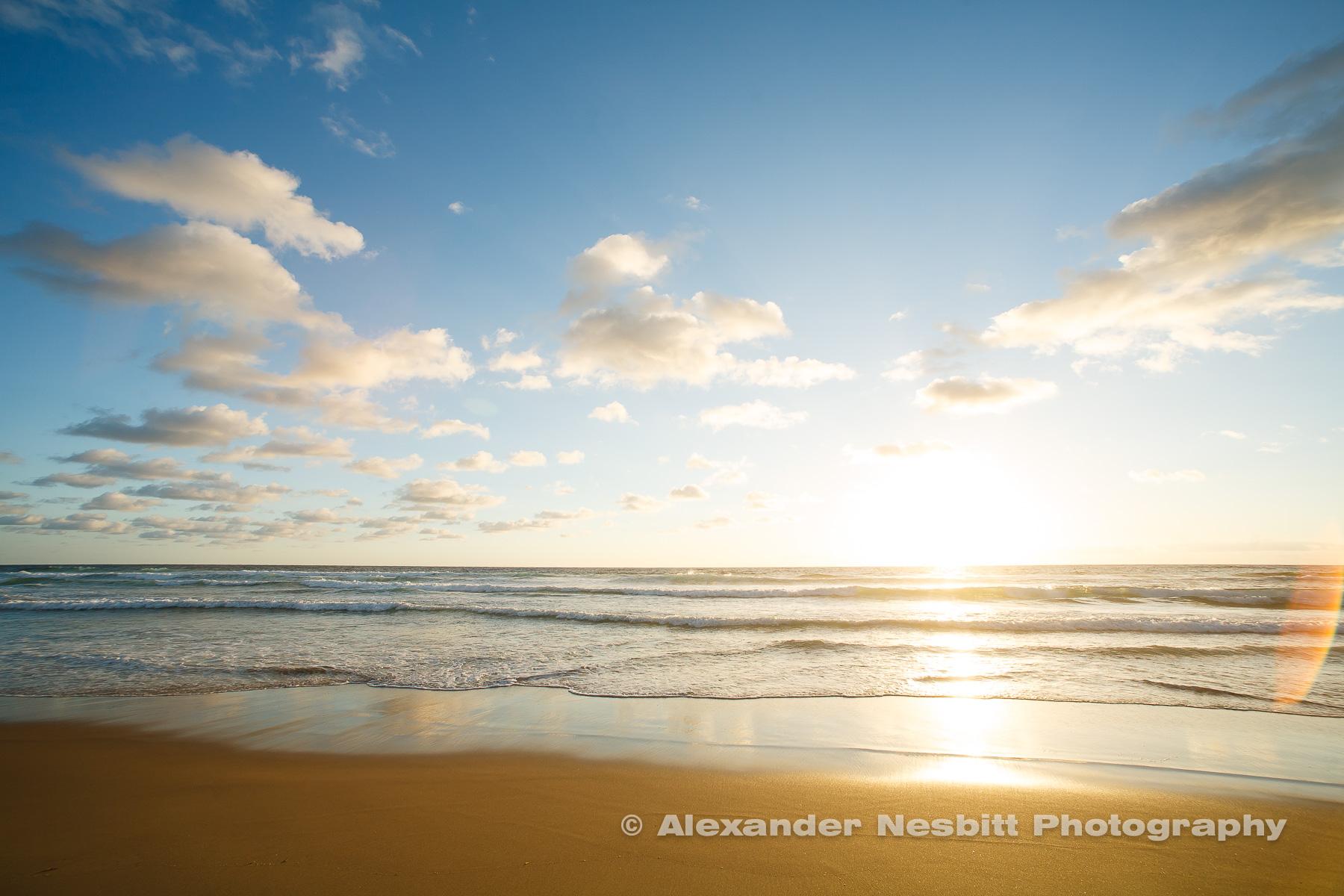 Tofo Beach on the Indian Ocean, Mozambique