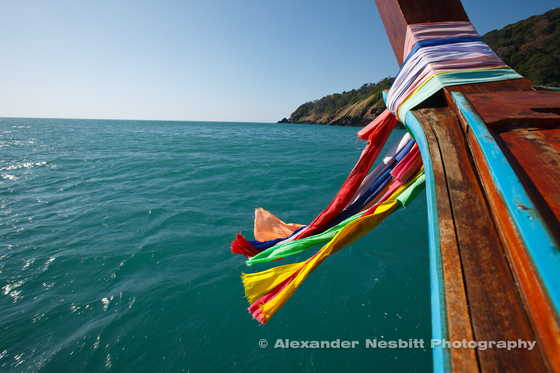 Long tail boat ride, Thailand