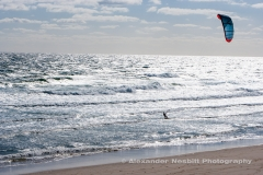Kiteboarding Downwinder, Cape Cod