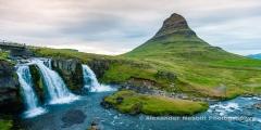 Kirkjufell mountian and waterfall, Iceland