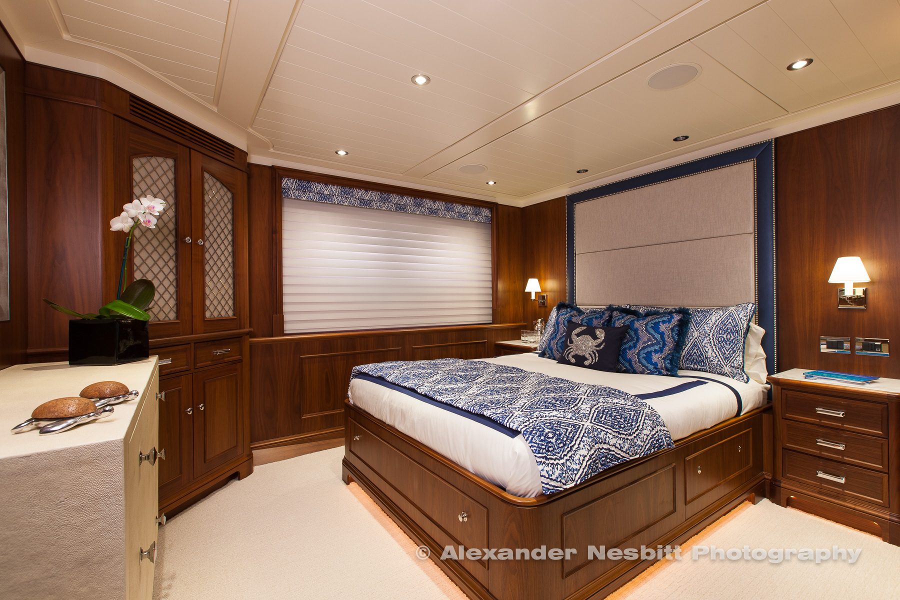 Yacht Cracker Bay interior shoot