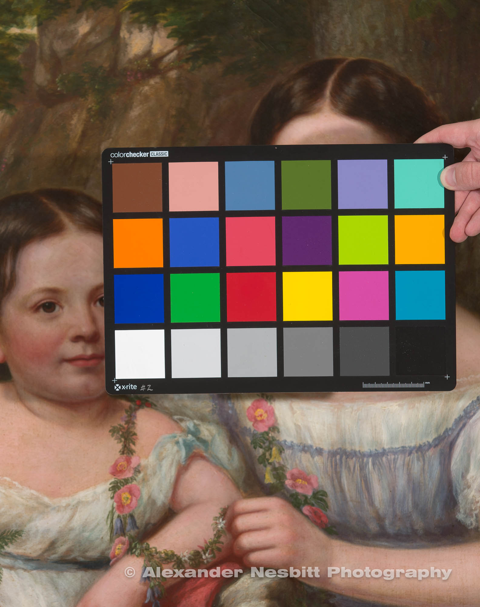 Art reproduction photography with the ColorChecker - our art reproduction service