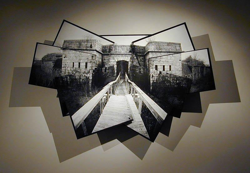 Fort Adams sculptural collage